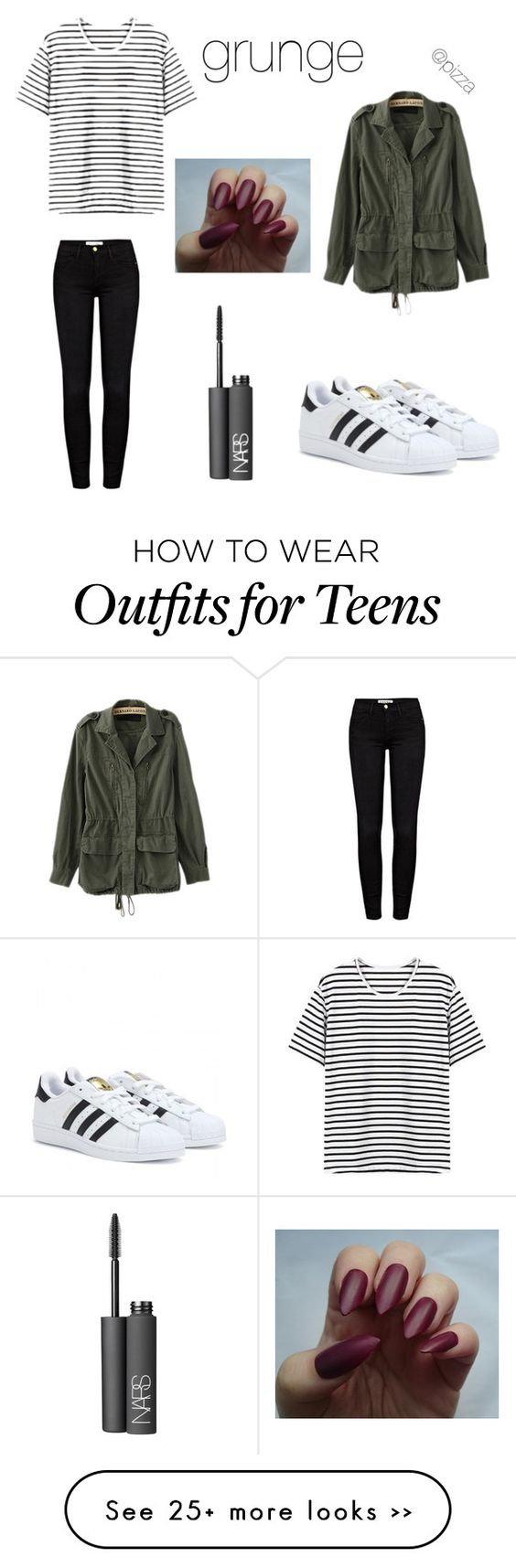 """grunge teens lookbook"" by grungegiiirl on Polyvore"