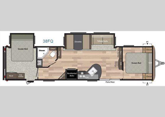 New Keystone RV Springdale 38FQ Travel Trailer for Sale   Review ...