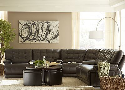 Brown Leather Sofas Leather Sectionals And Dark Brown Leather On Pinterest