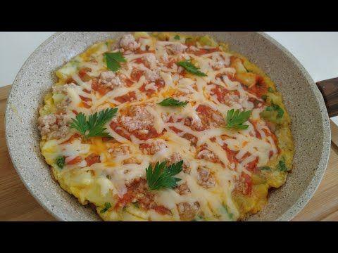 وجبة عشاء سهلة وسريعة في المقلاة Youtube Food Breakfast Quiche