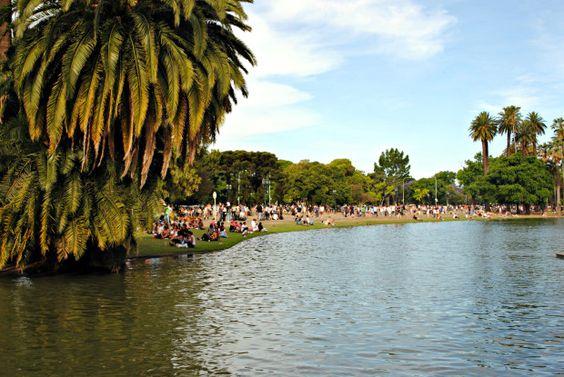 Rosedal Bosques de Palermo Buenos Aires