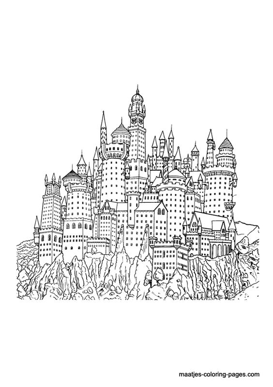 Harry Potter Coloring Page Harry Potter Coloring Pages Harry Potter Coloring Book Harry Potter Adult Coloring Book