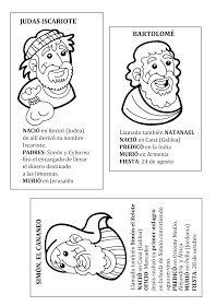 Cartas Biograficas De Los Doce Apostoles Catequesis Biblia Para