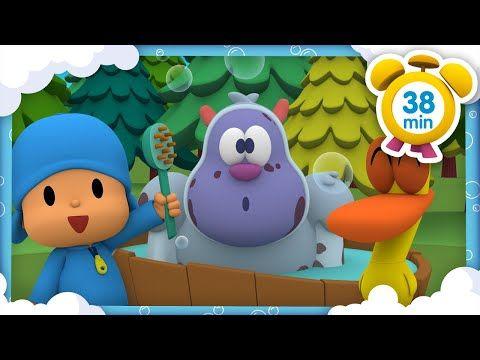 Canciones Infantiles De Pocoyo Nos Vamos A Banar 38 Min Caricaturas Y Dibujos An Canciones Infantiles Canciones Para Bebes Musica Infantil