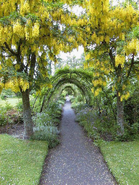 Cawdor Castle Garden, Nairn, the Highlands, Scotland