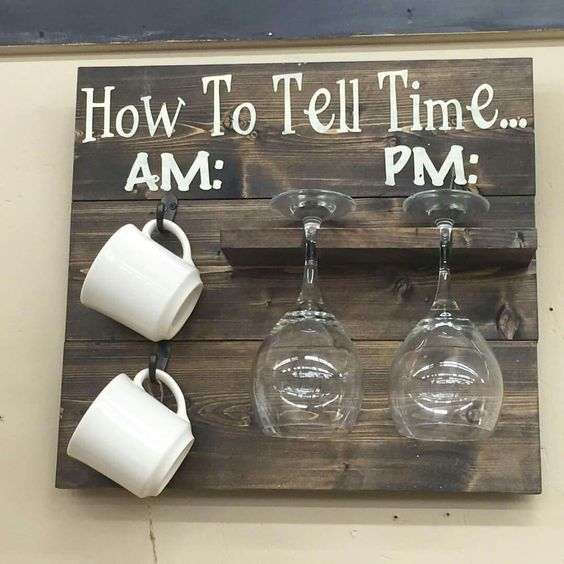 And some of my best memories are passing the tome sipping one of these two beverages with friends and good conversation.  I must have this on my kitchen some day.: