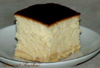 Cheesecake ! SUPER PUSZYSTY SERNIK WIEDEŃSKI   Nieziemski smak puszystego lekkiego sernika, który rozpływa się w ustach długo zostaje w pamięci. W smaku przypomina połączenie sernika z ptasim mleczkiem.