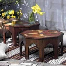 Build a low octagonal table - apply authentic designs for a Moroccan classic.