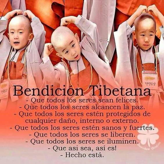 Bendicion tibetana