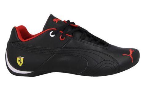 Men's shoes #sneakers puma future cat leather sf #ferrari