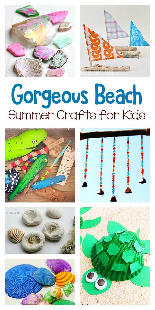 Beach Nature Crafts For Kids Beach Crafts For Kids Easy Arts