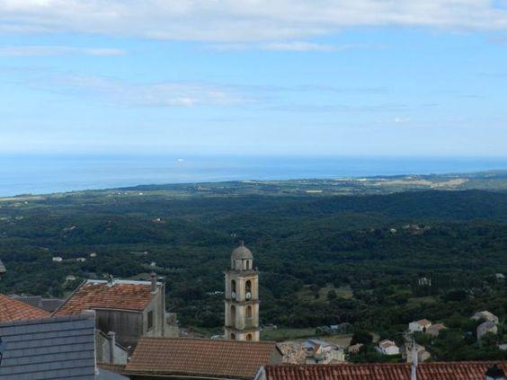 Cervione village, beau T3 meublé 51m², vue exceptionnelle