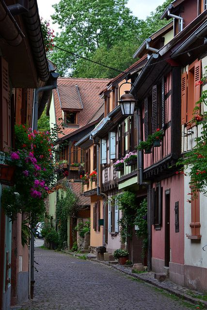 Charming streets of Kaysersberg, Alsace, France | by mart.panzer    ᘡղbᘠ