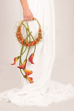 bridal bouquet on wedding