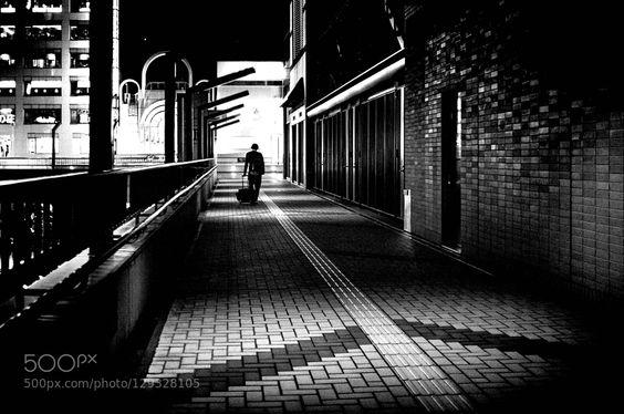 夜道 by moment_