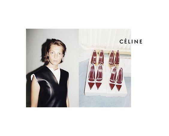 Céline Fall 2012, Daria Werbowy