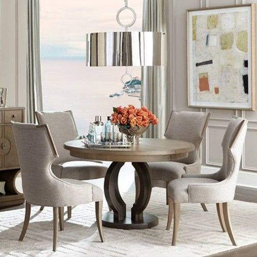 Dine In Style Beautiful Ideas For Your Dining Room Diningroom Diningroomdecor Diningroomideas Round Dining Table Sets Round Dining Table Dining Room Sets