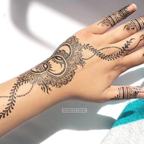 Black Henna Blackhenna Hennainspire Hudabeauty Arabichenna Simple Mehendi Dollhousedub Henna Designs Easy Beautiful Henna Designs Henna Tattoo Designs