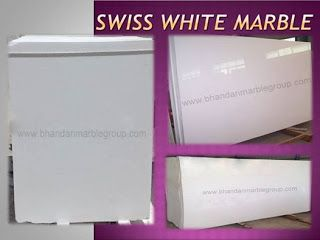 Kishangarh Marble Dealer: Swiss White Marble