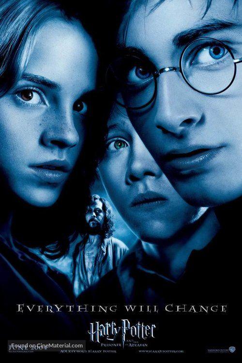 Harry Potter And The Prisoner Of Azkaban Movie Poster Fotos De Harry Potter El Prisionero De Azkaban Harry Potter