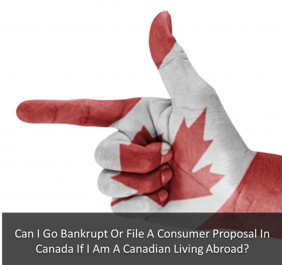 Can I Go #Bankrupt Or File A Consumer Proposal In Canada If I Am A #Canadian Living Abroad? http://www.afarber.com/pay-off-debt/can-i-go-bankrupt-or-file-a-consumer-proposal-in-canada-living-abroad