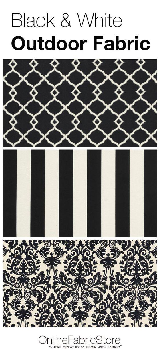 Outdoor Fabric Quatrefoil And Damasks On Pinterest