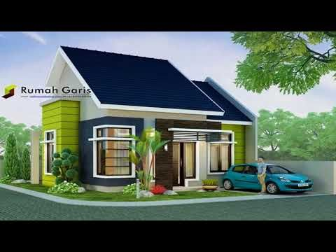 Small House And Bungalow House With Floor Plans And Estimated Cost Or Building Price Youtube Bungalow House Design Narrow House Designs Small House Design