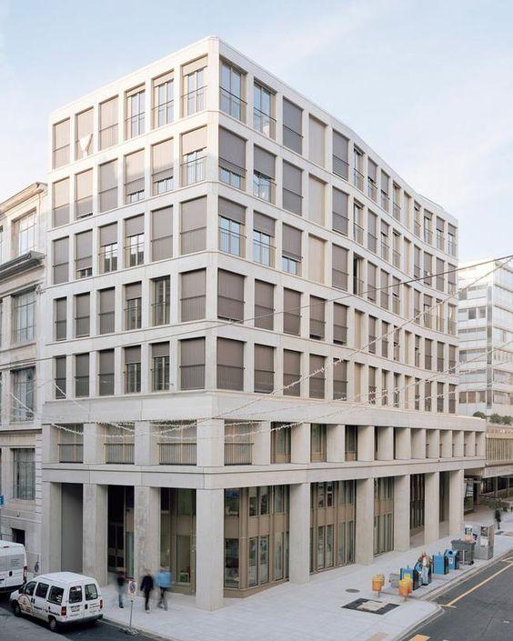 Sergison Bates & Jean-Paul Jaccaud - Social housing and nursery