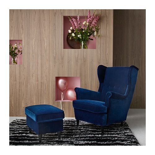 Ikea Us Furniture And Home Furnishings Ikea Strandmon Wing Chair Comfy Office Chair