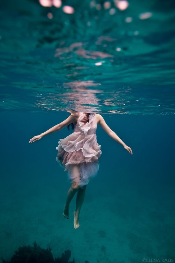 Life is what you make it: You're either barely keeping your head above water, or gleefully gliding through it...
