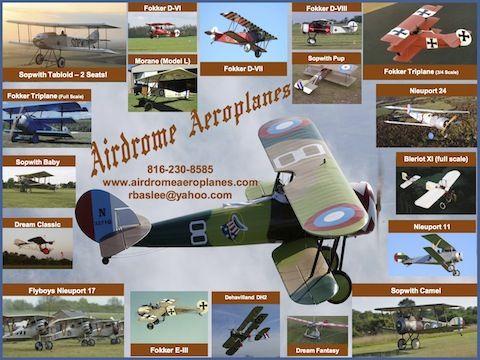 Airdrome aeroplanes