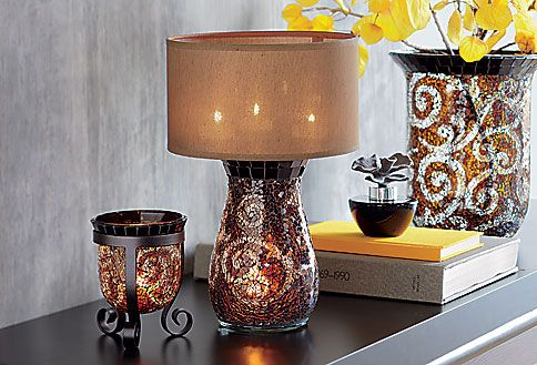 Amaretto Swirl Multi Tealight Lamp #PartyLite #candles