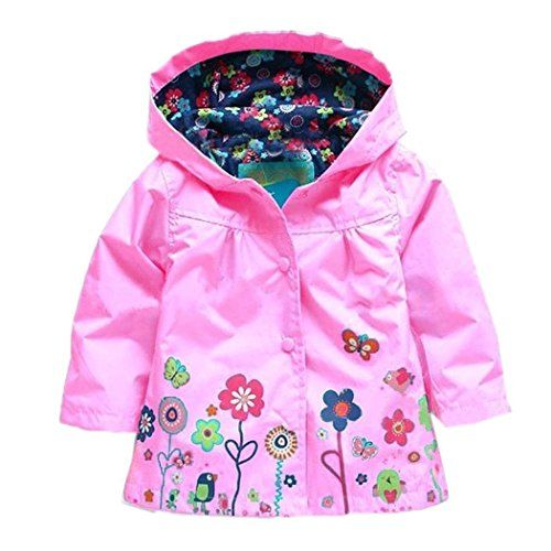 Girl's Fashion jackets Girls Outerwear Hoodies Jackets Raincoat