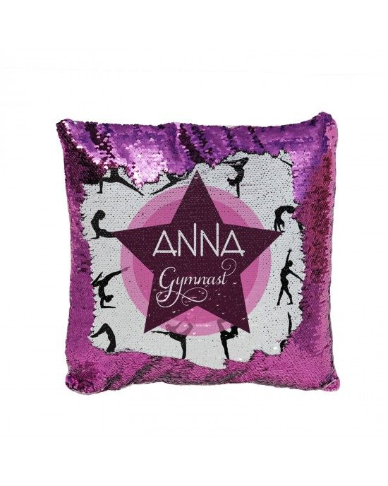 Pillow Cover Best Gymnast Ever Fun Gift