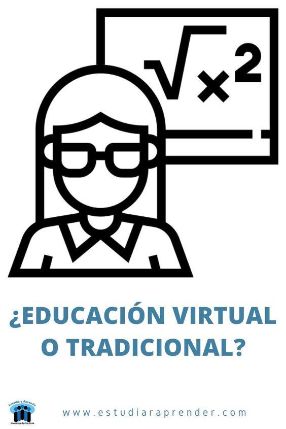 estudiar en línea o de manera tradicional