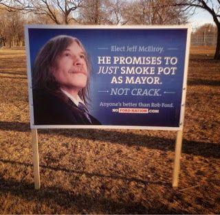 Choisir entre un fumeur de crack ou un fumeur d'herbe