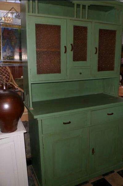 Oud groen - Woonkamer  Pinterest