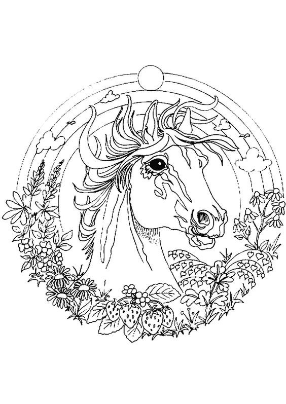 Mandalas chevaux and portrait on pinterest - Hugo l escargot mandala ...