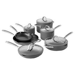 Calphalon Easy System Nonstick 7 Piece Cookware Set in Black