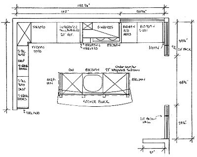 kitchen island design plans kris allen daily plan with dimensions and nomenclature 19707