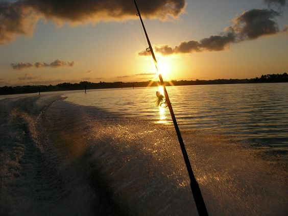 A great day of fishing comes to an end.
