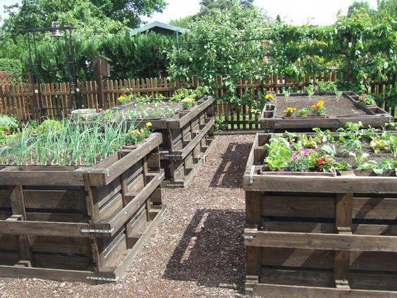 Hochbeet Mehr Raised Garden Garden Beds Pallets Garden