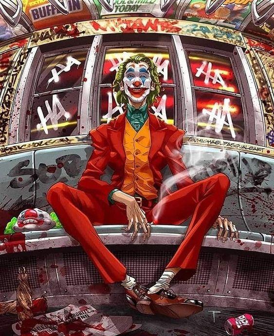 O comediante falido Arthur Fleck encontra violentos bandidos pelas ruas de Gotham City. Desconsiderado pela sociedade, Fleck começa a ficar louco e se transforma no criminoso conhecido como Coringa. #coringa #joker #JOKERLOVERS