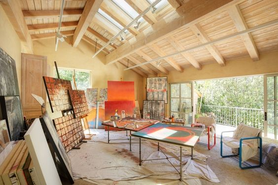 Home art studio ideas – an opportunity to break the rules of design
