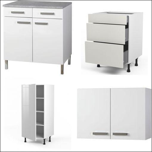 Redoutable Meuble De Cuisine Blanc Pas Cher Decoration Francaise Locker Storage Cuisine Decor