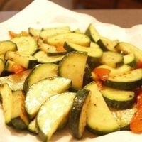 Stir-Fry of Sweet Peppers and Zucchini by <3