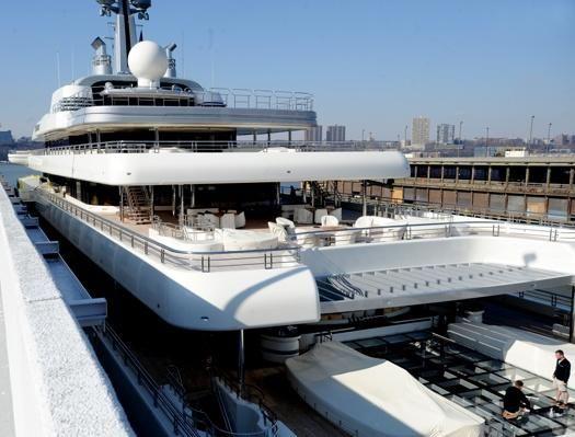 Eclipse yacht interior  eclipse yacht in malta | Abramovich's yacht visits Malta ...