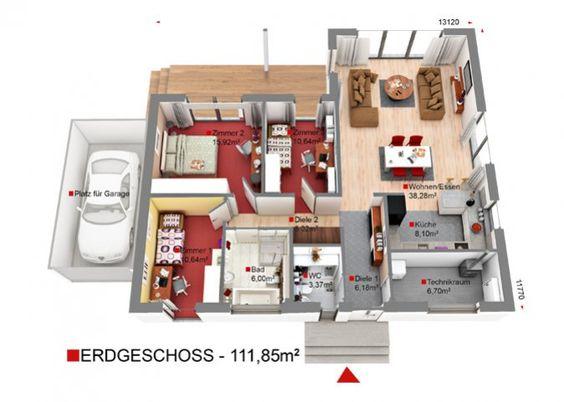 Hauskonfigurator - Konfiguriere dein Haus nach deinen Wünschen - DAN-WOOD Family