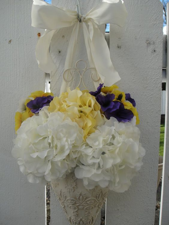 Spring and Summer Front Door Decoration   Wreath by donnahubbard, $65.00