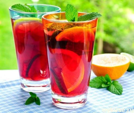 Освежающие летние напитки